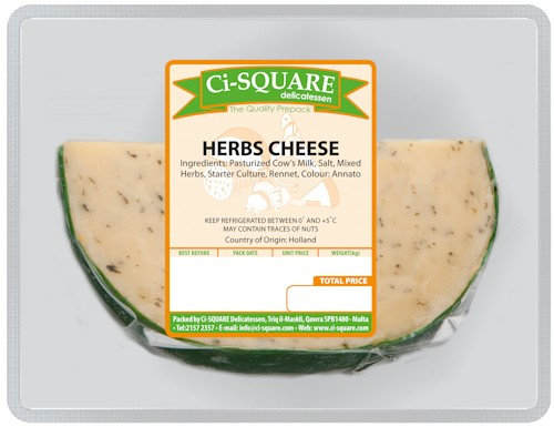 Herbs Cheese
