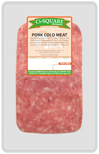 Pork Cold Meat